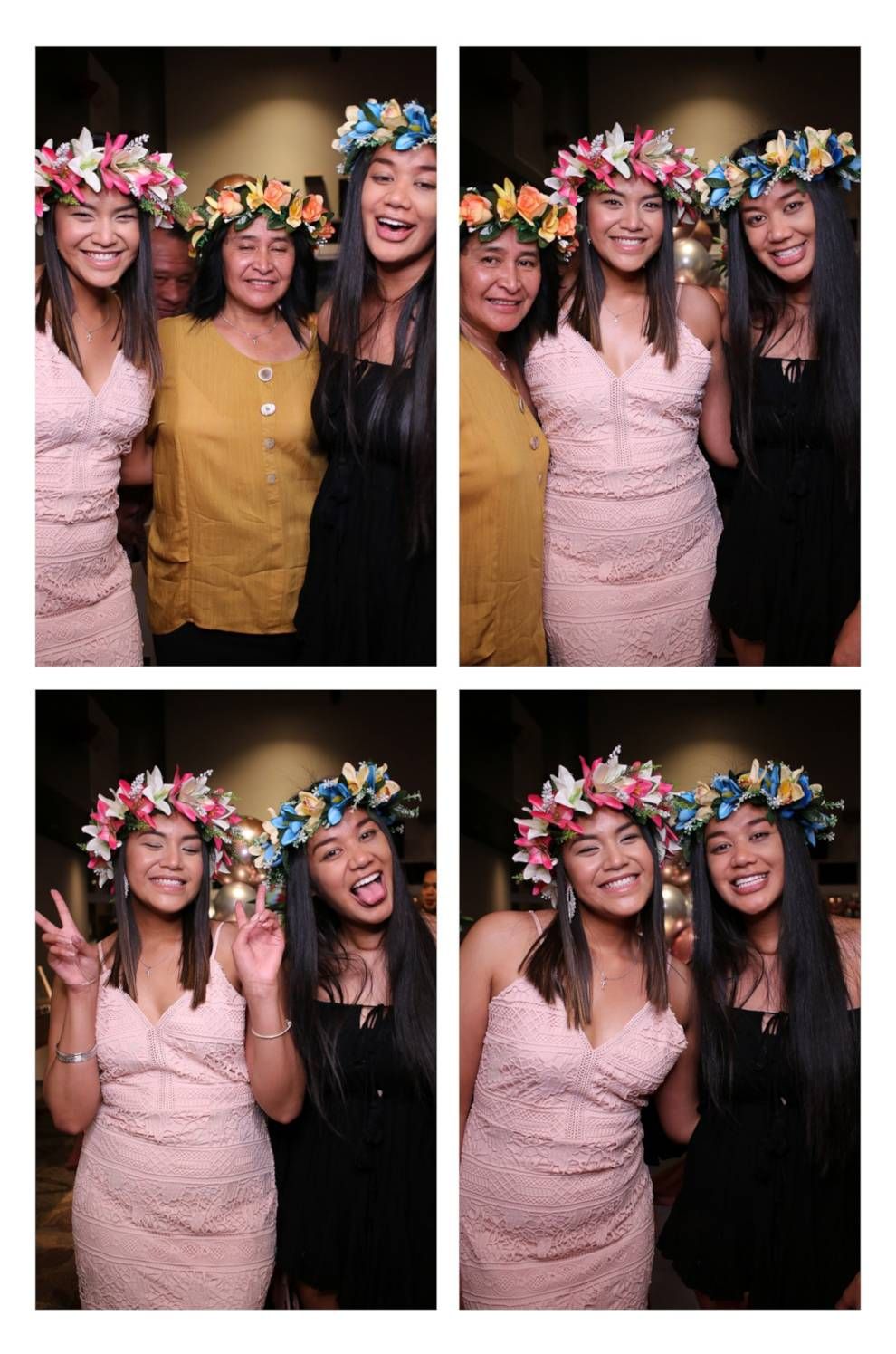 Mirror Photo Booth Print Layout