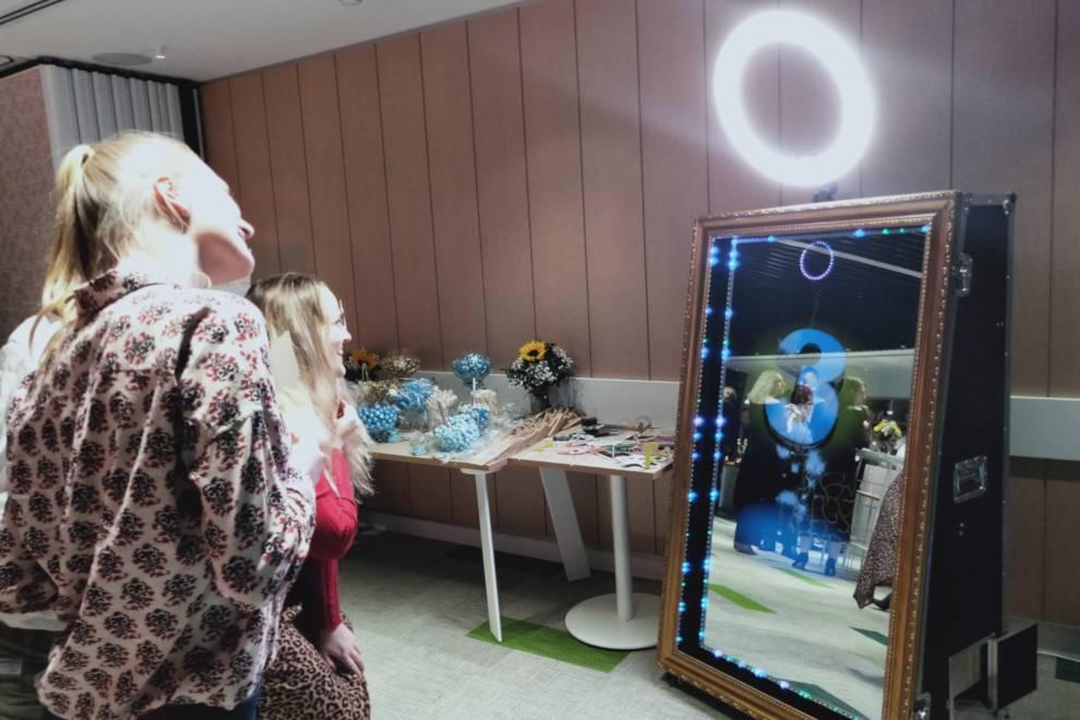 Mirror Photo Booth Hire Sunshine Coast