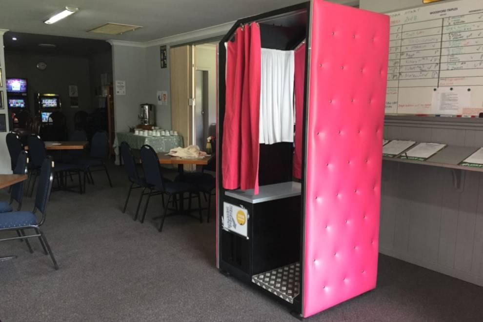 Enclosed Photo Booth Hire Sunshine Coast