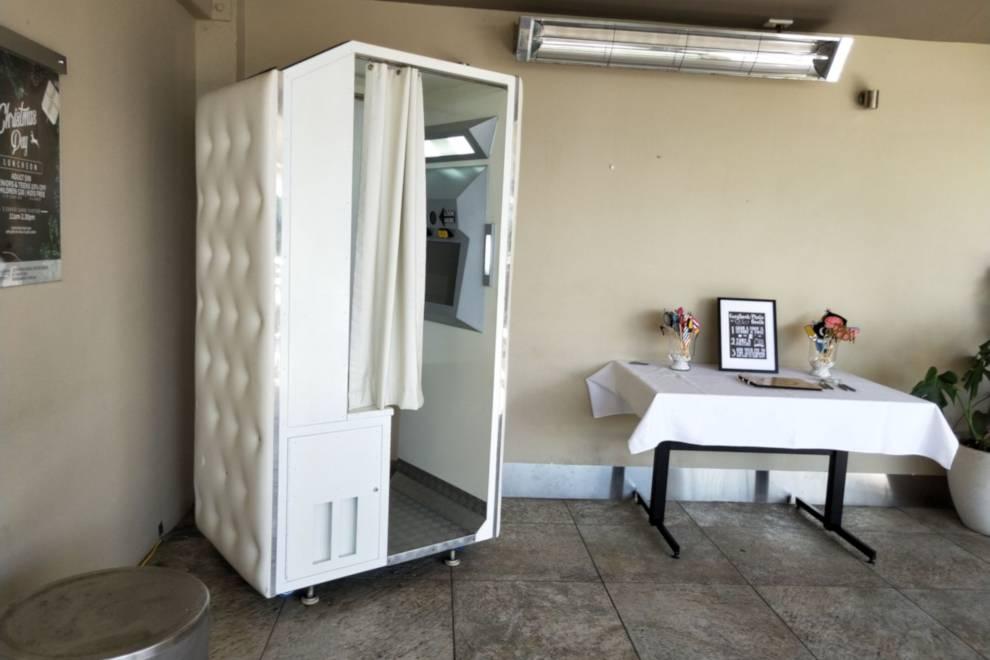 White Wedding Photo Booth Hire Sunshine Coast